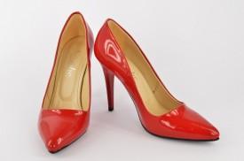 Ženske cipele na štiklu - Salonke 5010-CR crvene