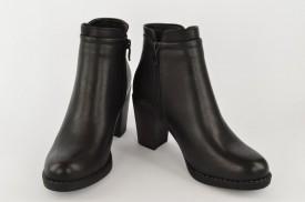 Ženske čizme na štiklu LH75024-1C crne