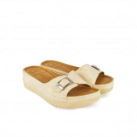 Ženske papuče na platformu PFH4003-00BE bež