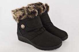 Zimske ženske čizme LH5158 crne