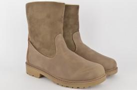Postavljene ženske čizme HS001 braon