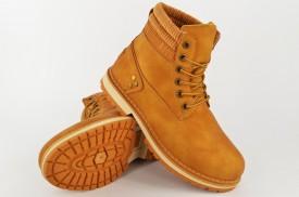 Dečije duboke cipele - Kanadjanke LH85201 žute