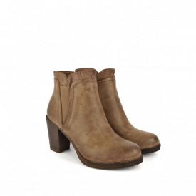 Duboke cipele na štiklu LH085618-1BR braon