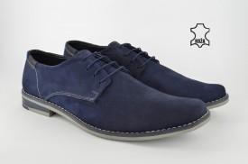 Kožne muške cipele 320-T teget