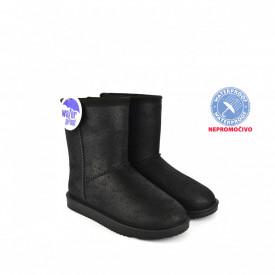 NEPROMOČIVE ženske duboke čizme - Šunjalice LH086655CR crne