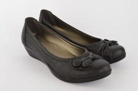 Ženske cipele na ortoped petu S429-18 crne