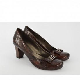 Ženske cipele na štiklu 415BR braon