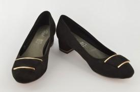 Ženske cipele na štiklu L39656 crne