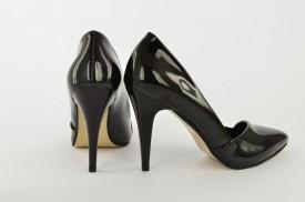 Ženske cipele na štiklu - Salonke 1585-1C crne