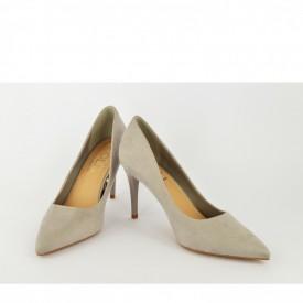 Ženske cipele na štiklu - Salonke L55047S sive