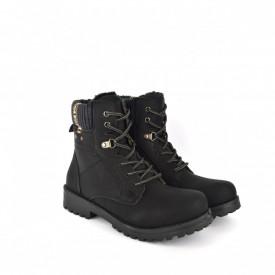 Ženske duboke cipele CA546-1CR crne
