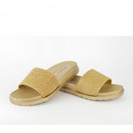 Ženske papuče LP021028ZT zlatne
