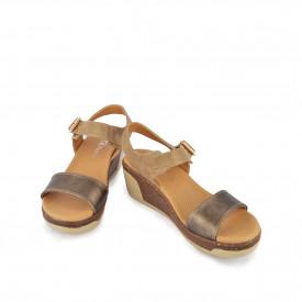 Ženske sandale na platformu WS14012BR braon