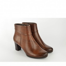 Ženske poluduboke čizme na štiklu LH95652-B braon