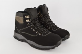 Postavljene muške duboke cipele QH-83-C crne