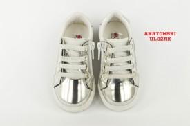 Dečije cipele 291 sa anatomskim uloškom bele