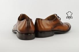Kožne elegantne muške cipele 500-2 braon