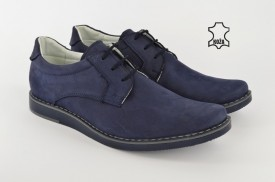 Kožne muške cipele 275-P plave