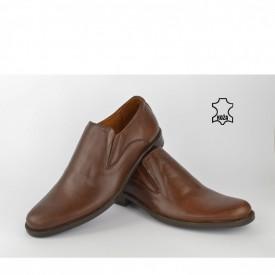 Kožne muške cipele 296BR braon