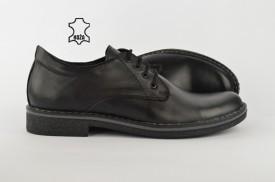 Kožne muške cipele 405-C crne