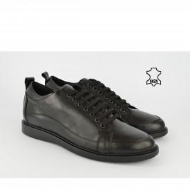 Kožne muške cipele 866CR crne