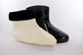 NEPROMOČIVE gumene ženske čizme 6-028-1 crne