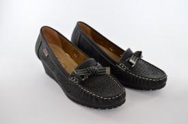 Ženske cipele na platformu 6315-1 crne