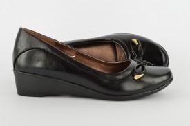 Ženske cipele na platformu L9275 crne