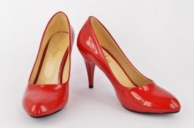 Ženske cipele na štiklu - Salonke 1310-CR crvene