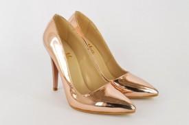 Ženske cipele na štiklu - Salonke 5010-R roze