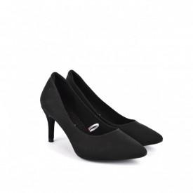 Ženske cipele na štiklu - Salonke L82501CR crne