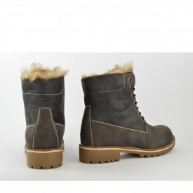 Ženske duboke cipele 18AW1463SV sive