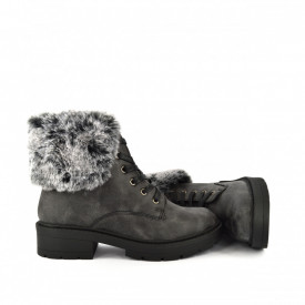 Ženske duboke cipele LH050653CR crne