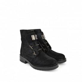 Ženske duboke cipele LH095452CR crne