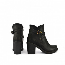 Ženske duboke cipele na štiklu 2254CR crne
