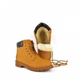 Ženske duboke cipele V7573-6YL žute