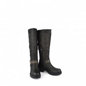 Ženske duboke čizme WB10029CR crne
