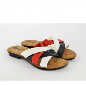 Ženske papuče 07378 šarene