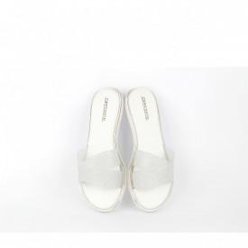 Ženske papuče LP020357SB srebrne