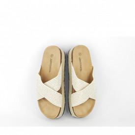 Ženske papuče LP020557SB srebrne