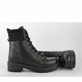 Ženske poluduboke čizme na štiklu 2157CR crne