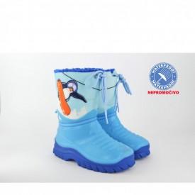 NEPROMOČIVE gumene dečije čizme 00509PL plave