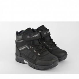Dečije duboke cipele 1527CR crne
