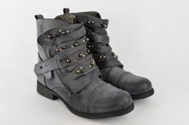 Ženske čizme LH85664 sive