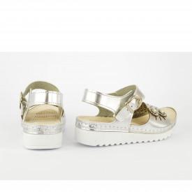 Dečije sandale 21SB srebrne
