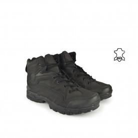 Kožne muške duboke cipele 31509DCR crne