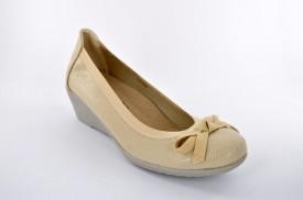 Ženske cipele na platformu L83604 bež