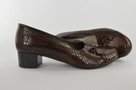 Ženske cipele na štiklu 300-144 braon