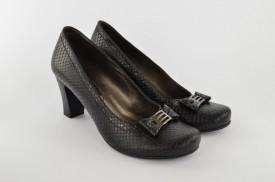 Ženske cipele na štiklu 415-138 crne