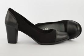Ženske cipele na štiklu L55651 crne